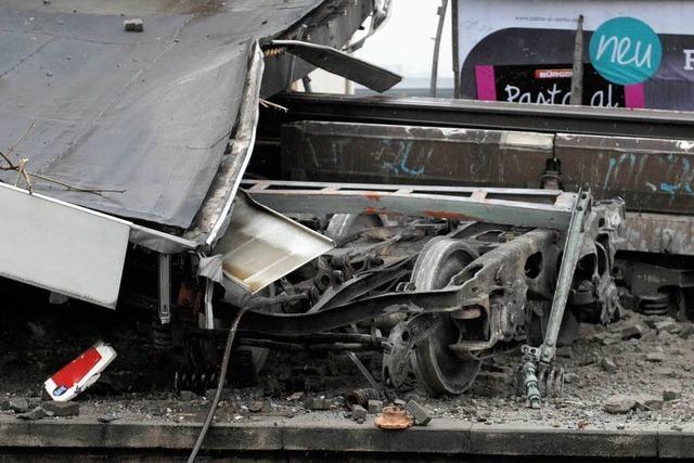 Güterwaggonunfall sorgt für Bahnchaos in Stuttgart