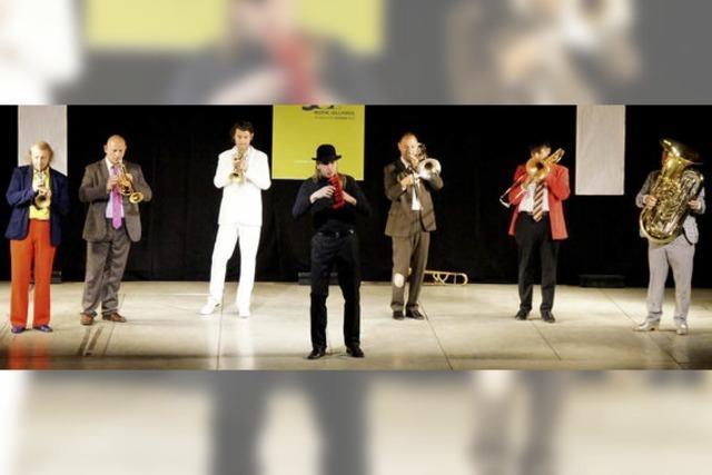 Kult-Band Mnozil Brass: Klamauk und Musik in Perfektion