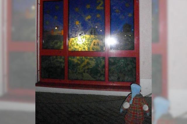 Stimmungsvolle bunte Fenster