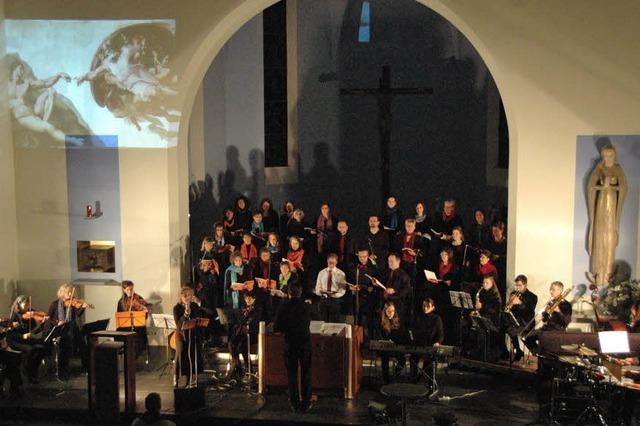 Singkreis begeistert mit Oratorium
