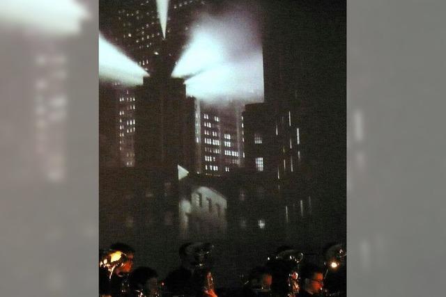 Stummfilm in der Stadthalle