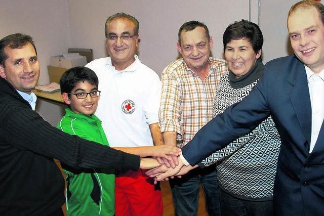 Erster Integrations-Blutspendertag