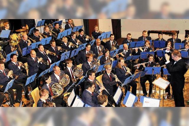 Bräunlinger Stadtmusik spielt in Hochform