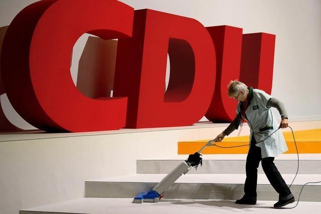 CDU sucht Erfolgskurs für Wahljahr