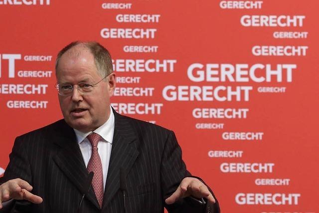 Peer Steinbrück: Der Fehlstarter