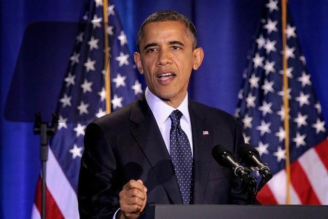 Obama warnt Assad vor Einsatz von Chemiewaffen