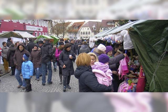 Weihnachtsmarkt mit großer Vielfalt