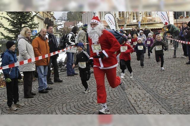 Beim Nikolauslauf purzeln die Rekorde