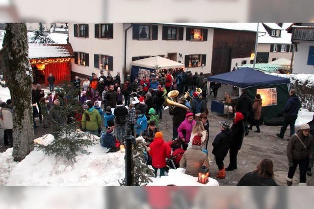 Winterzauber in Marzell