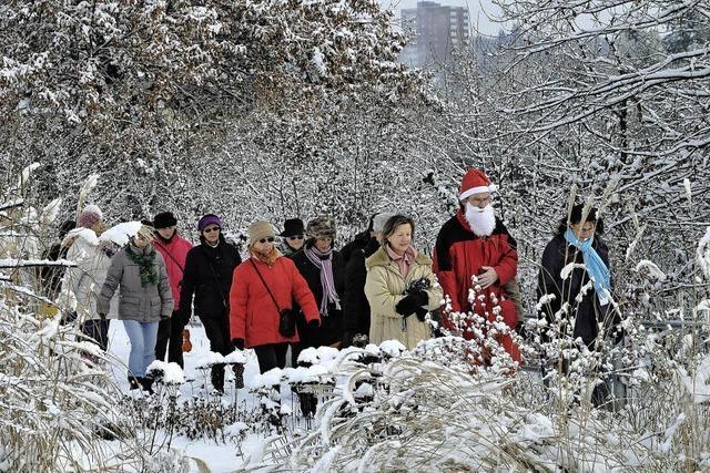 Der Nikolaus geht voran