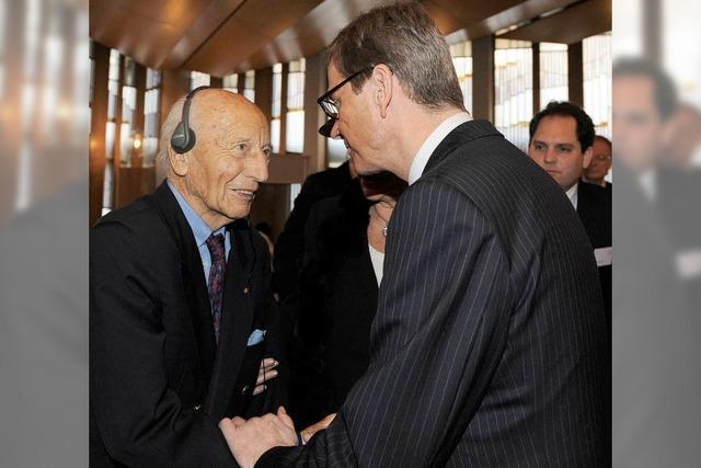 Walter-Scheel-Forum: Westerwelle fordert Begegnung auf Augenhöhe