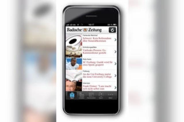 News an der Bushaltestelle: Das neue Mobilportal der BZ