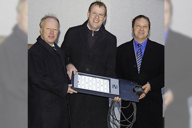 Start für LED-Lampen in Bahlingen und Sasbach