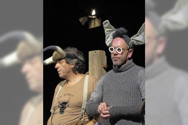 """""""Ox & Esel"""" im Werkraum Schöpflin in Brombach"""