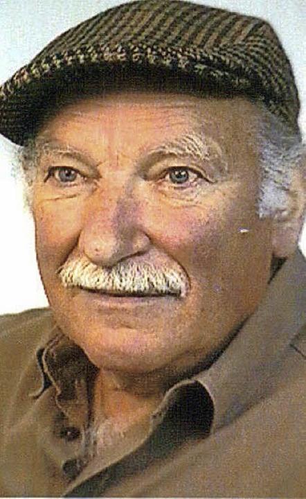 In Staufen feierte dieser Tage der Bildhauer Ludwig Weber seinen 90. Geburtstag.  | Foto: privat