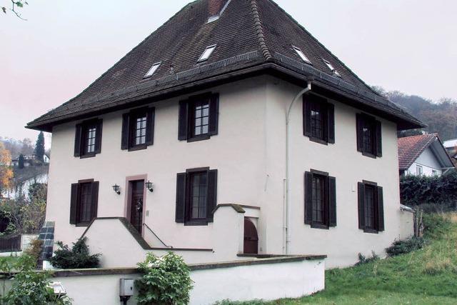 Pfarrhaus wird renoviert