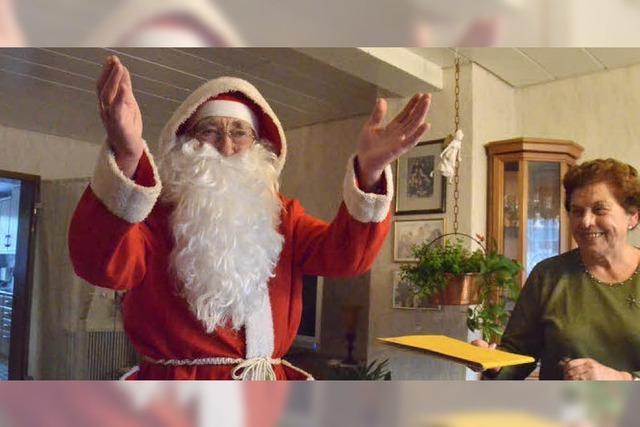 Als der Nikolaus die Geschenke vergessen hatte