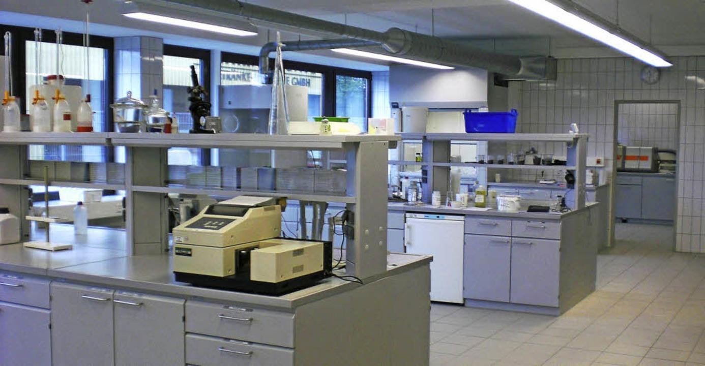 Einblick in ein Zimmermann-Labor   | Foto: Privat