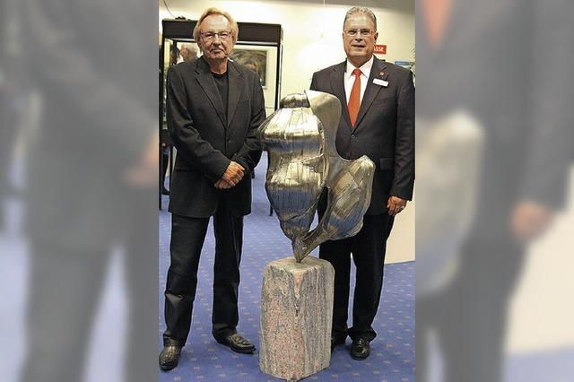 Jürgen Bach zeigt seine Skulpturen