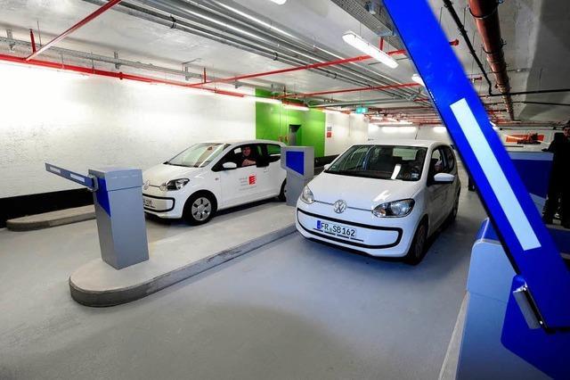 Entlastung für Freiburger Innenstadt: Rotteck-Garage öffnet