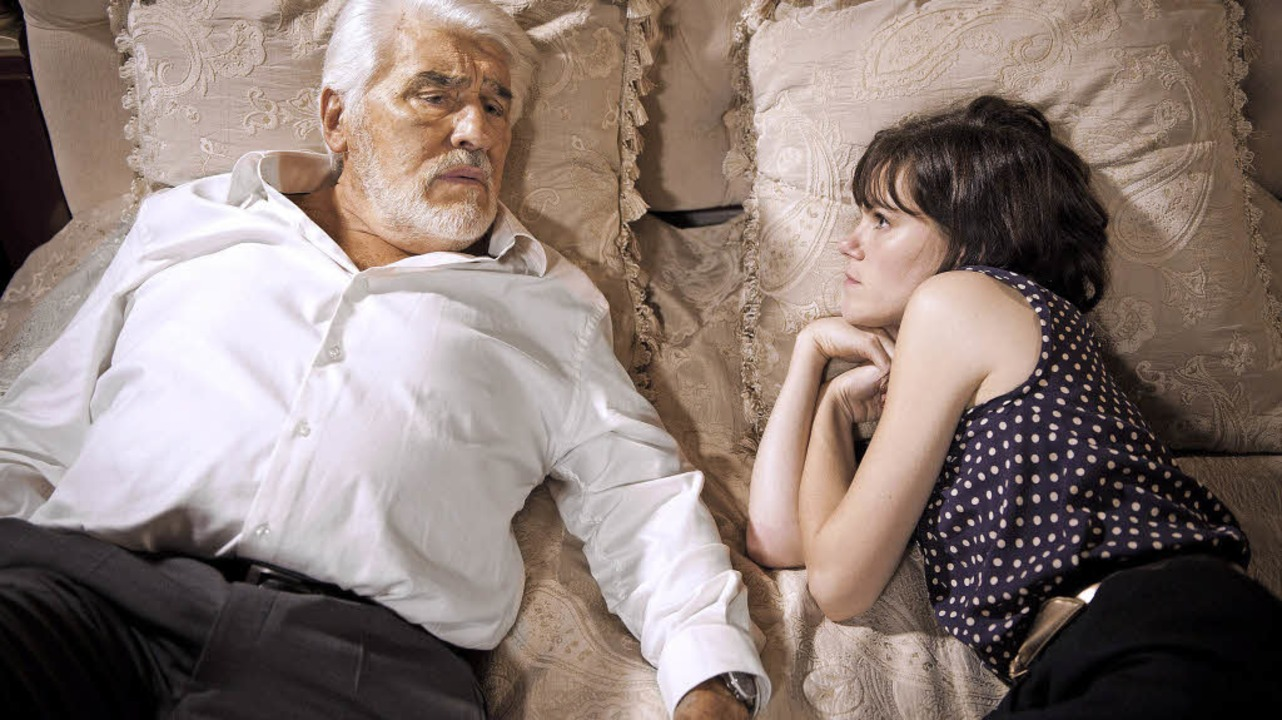 Der alte Mann und das Gör: Mario Adorf, Fritzi Haberlandt     Foto: dpa