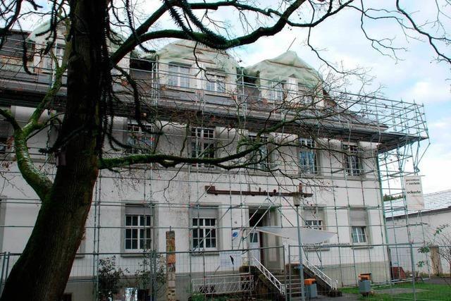 Nach Großbrand: Villa Bauer bis Herbst 2014 bezugsfertig