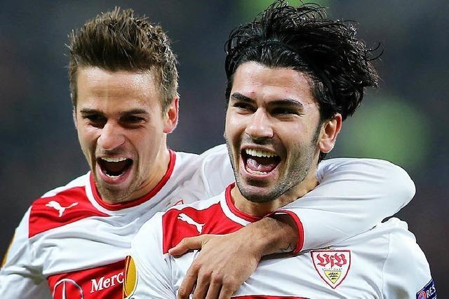 Am VfB Stuttgart liegt es, ob Historisches geschieht