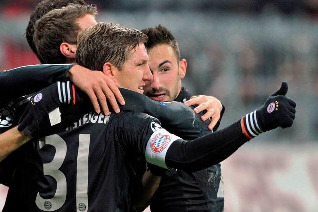 Champions League: FC Bayern ist Gruppensieger