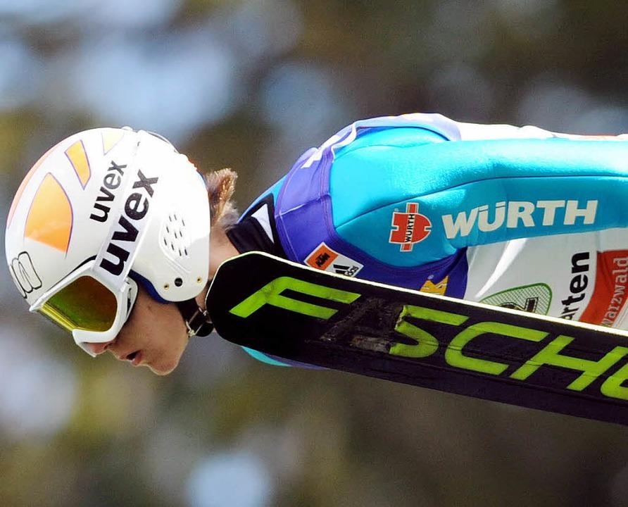 Ein Hoffnungsträger aus Wolfgang Steie...las Wangler von der Skizunft Breitnau   | Foto: seeger