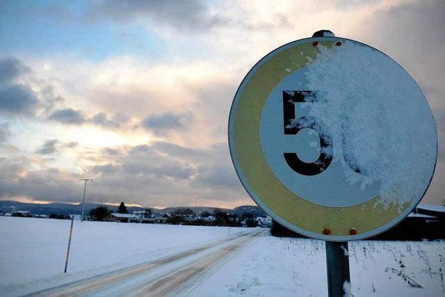 Jetzt macht der Winter ernst – Schnee bis ins Flachland