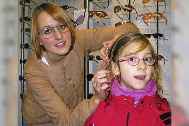 Ausbildungsberuf Augenoptikerin: Franziska Faller sorgt mit Präzision für Durchblick