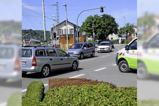 Verkehrsprobleme entstehen vor der Haustür