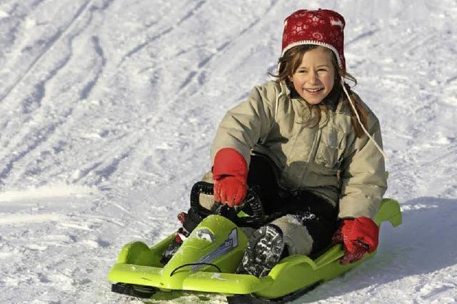 Start in die Wintersaison mit viel Schnee