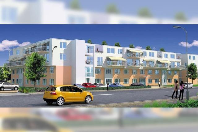 Bald Baustart fürs Pflegezentrum