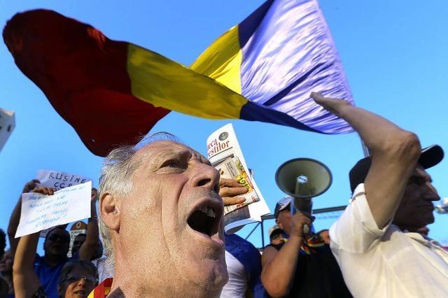 Rumäniens ewiger Machtkampf