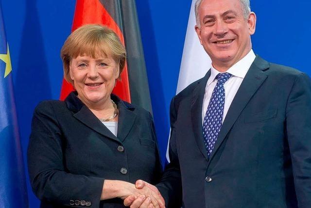 Merkel und Netanjahu finden keinen gemeinsamen Nenner