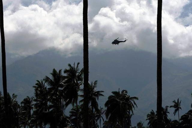 Taifun Bopha tötet 500 Menschen – Helfer suchen weiter