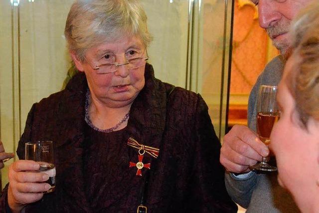 Bundesverdienstkreuz für Marta Schuler