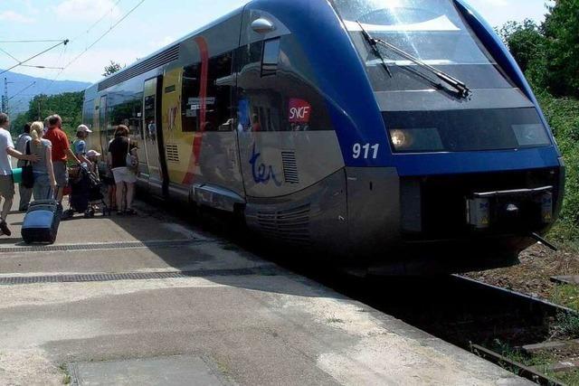 S-Bahn-Verbindung nach Mulhouse nimmt Fahrt auf