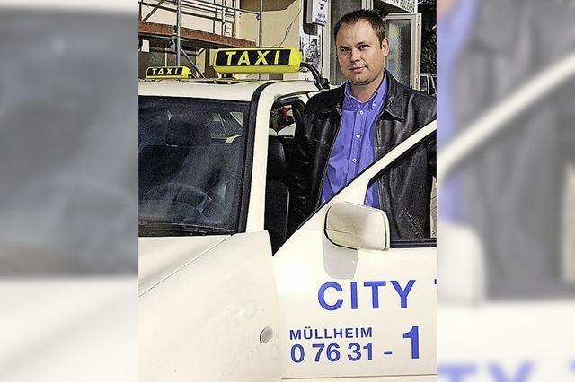 Taxi in die Müllheimer Innenstadt