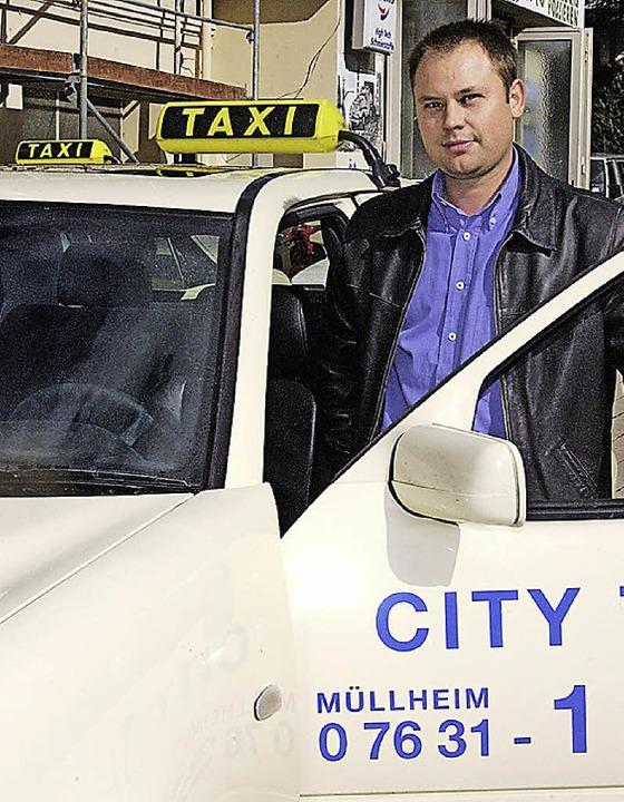 Taxi nach Müllheim-Stadt: Die Agus finanziert eine Abendlinie.   | Foto: mps
