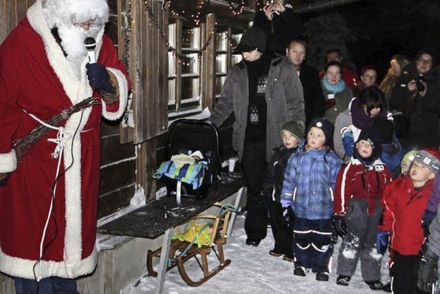 Nikolaus eröffnet die Skisaison