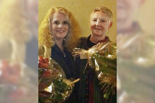 Letzte Adventsfeier mit Verena Tippmann
