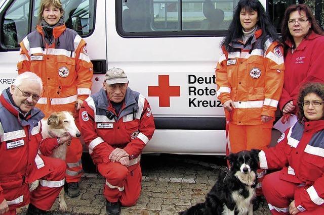 Eine Erbschaft für die Rettungshunde