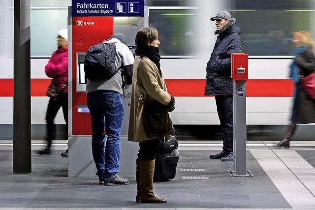 Bahn will Preiserhöhung in Grenzen halten