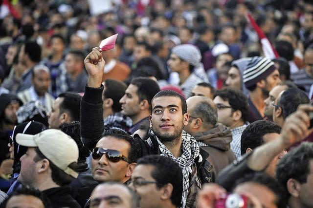 Proteste gegen Ägyptens Islamisten