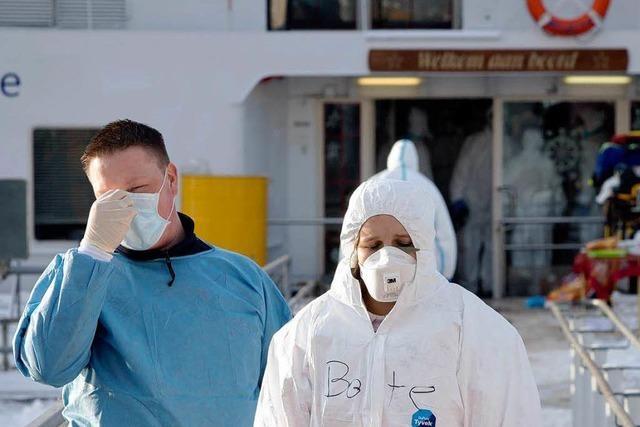 Quarantäne auf Schiff aufgehoben, Ursache gefunden