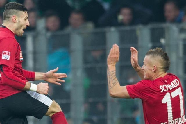 Endstand: SC Freiburg - Greuther Fürth 1:0