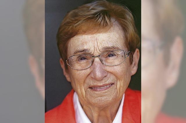 Bärbel Kaufmann im Alter von 83 Jahren gestorben