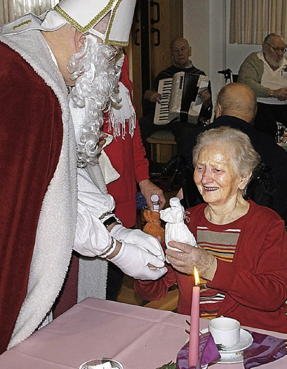 Der Nikolaus war da.    Foto: miloslavic
